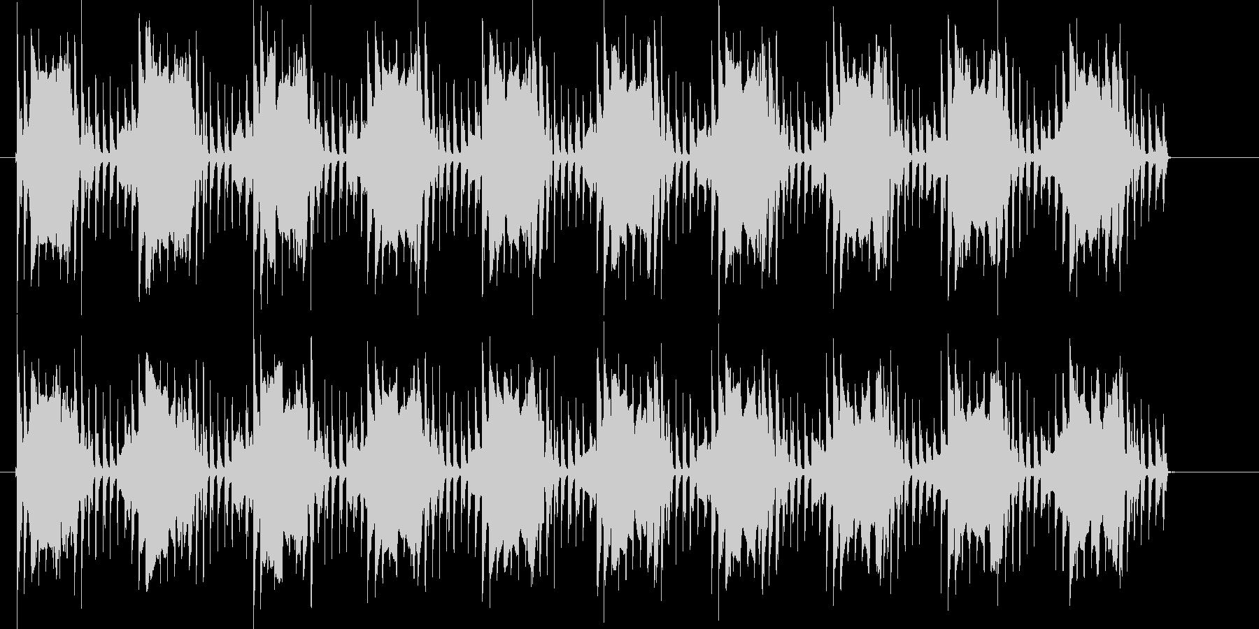 ピコピコン(電子音が繰り返される)の未再生の波形
