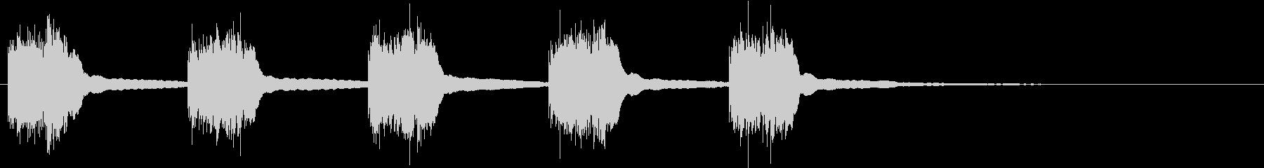 黒電話 着信音01-1の未再生の波形
