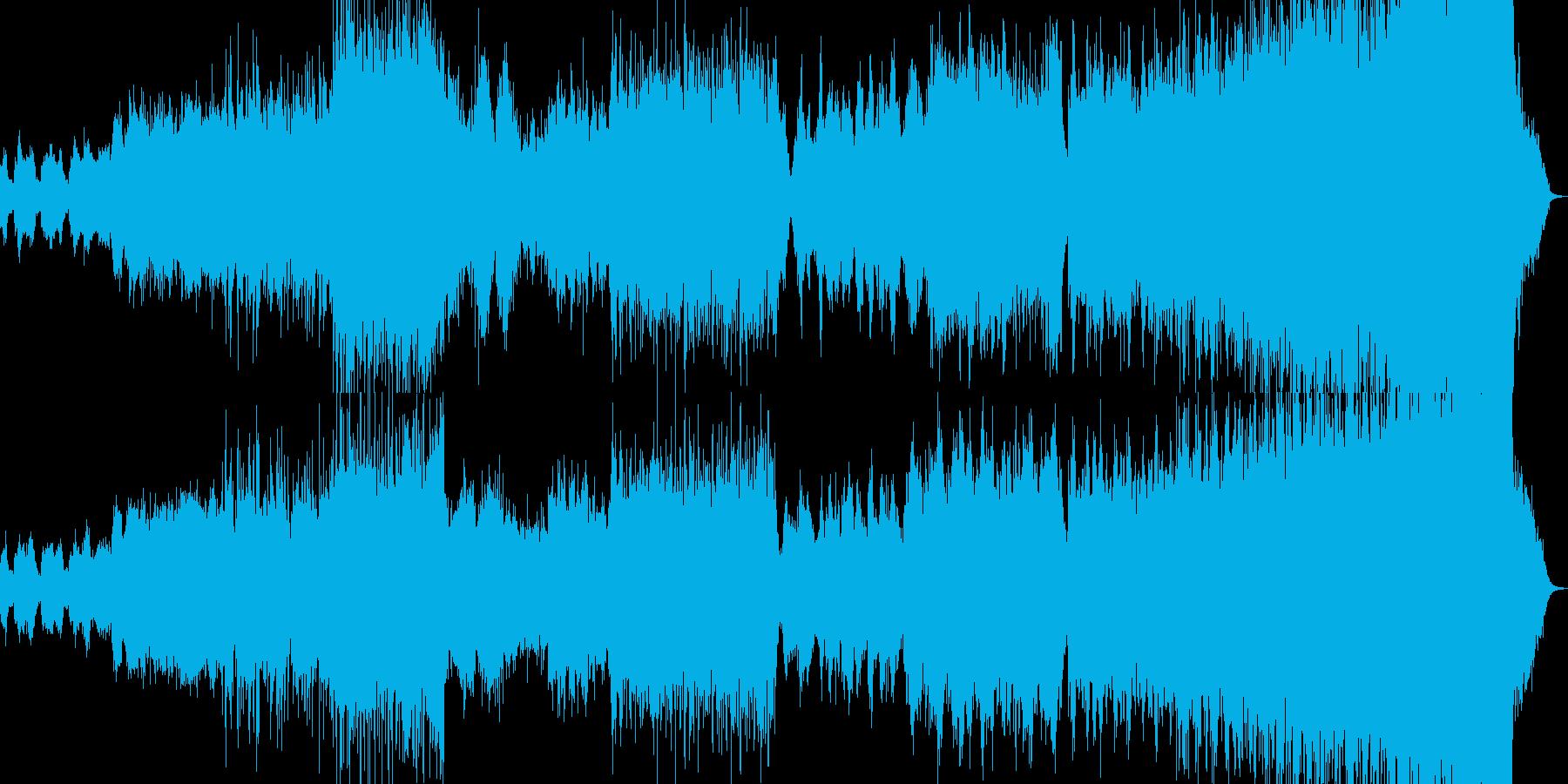 幻想的音楽ー雨宿りの再生済みの波形