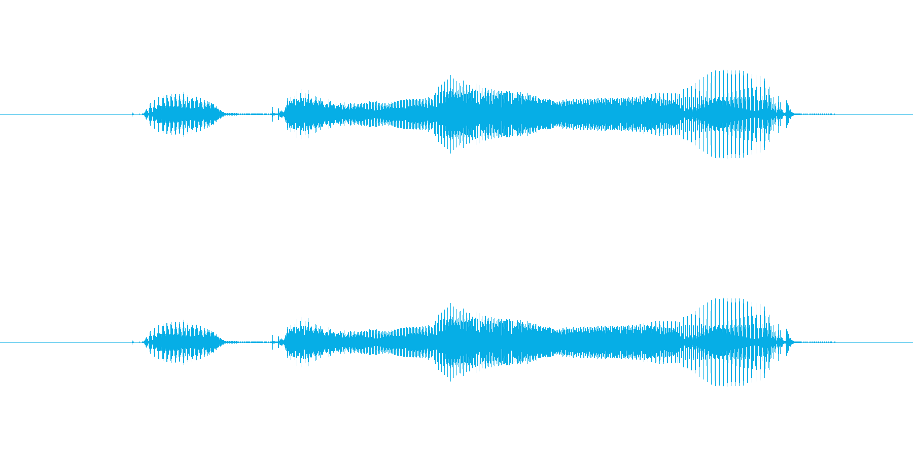 【年数】1年後の再生済みの波形