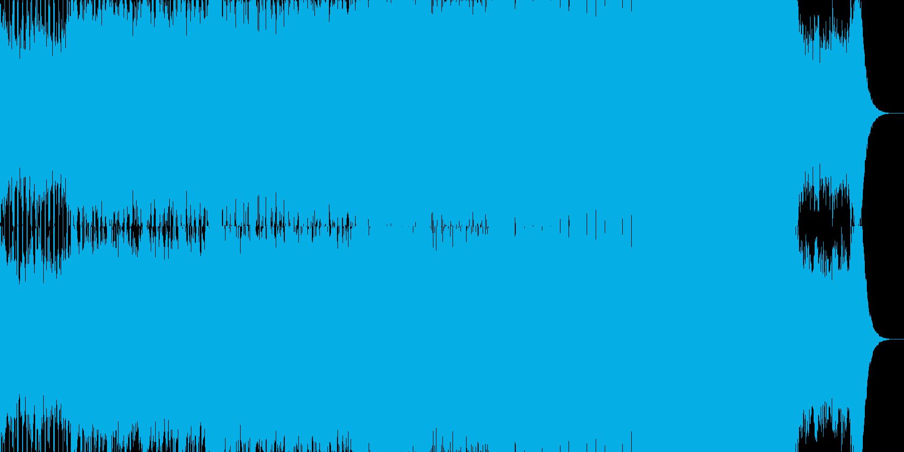 ほんの少しトラップっぽいシンフォニックの再生済みの波形