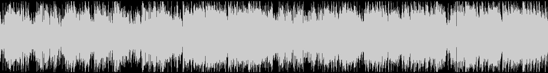 生演奏Sax穏やかフュージョン※ループ版の未再生の波形