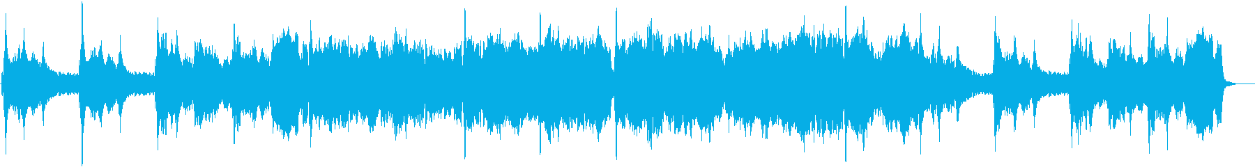 ハープとチェロが綺麗なクラシックBGMの再生済みの波形
