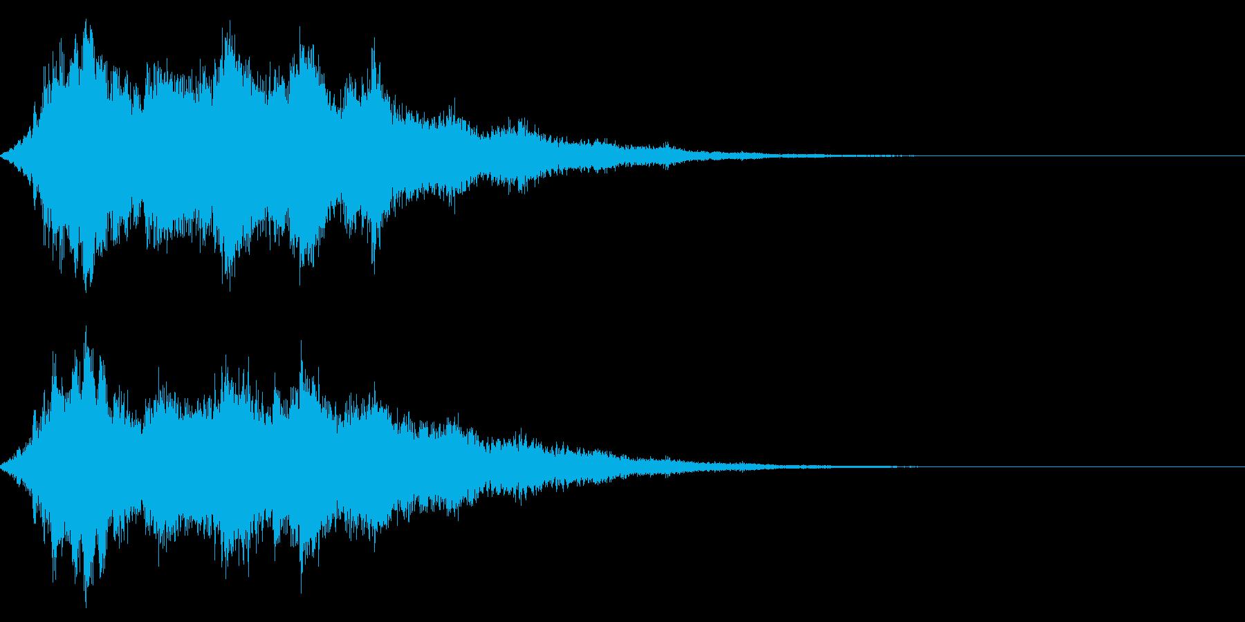 シャキーン♪クリア,達成,回復等に10bの再生済みの波形