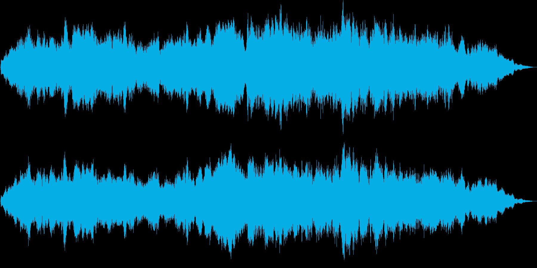 ダークなアンビエントです。の再生済みの波形