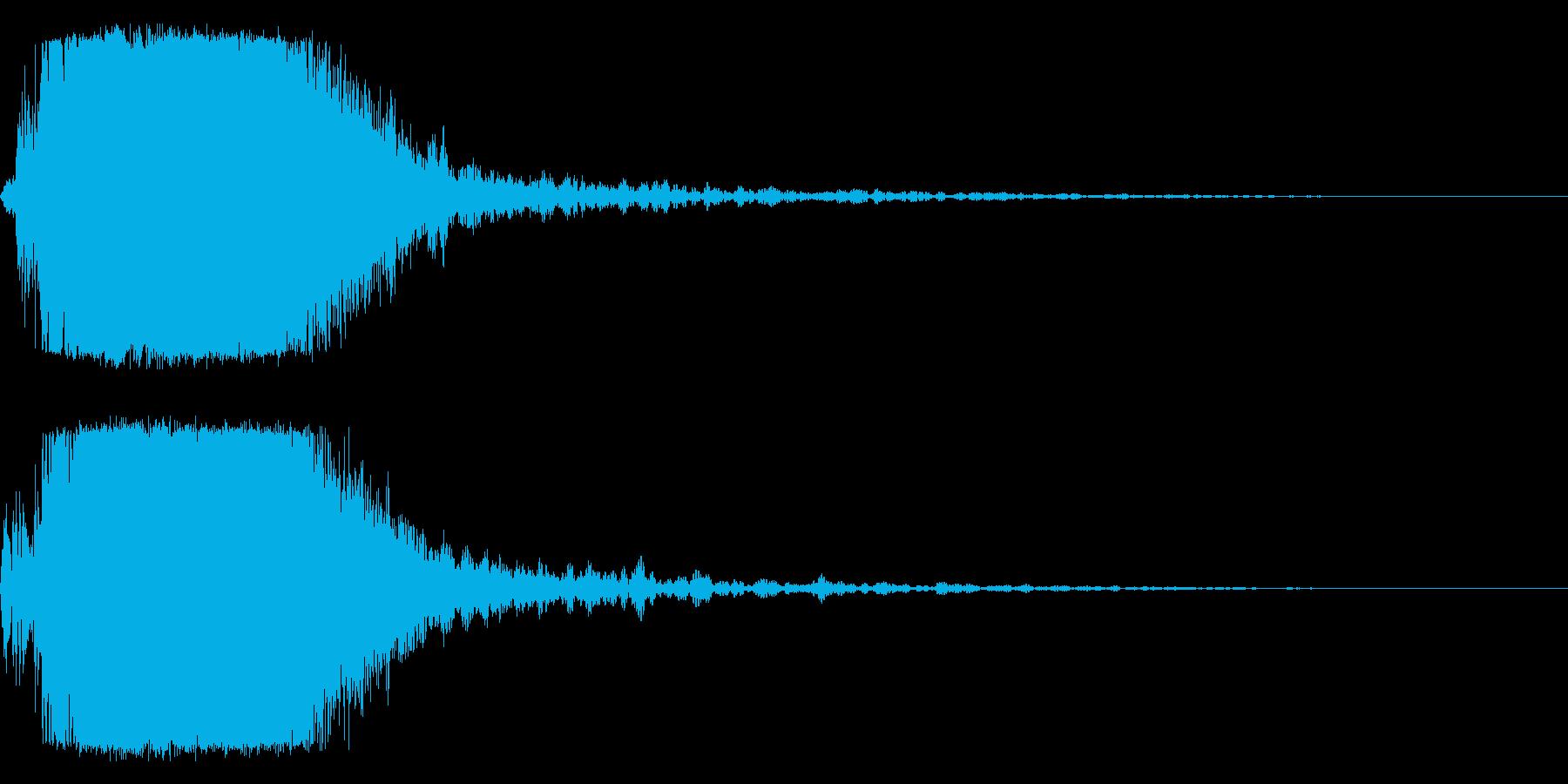 シャキーン!ド派手なインパクトに最適31の再生済みの波形