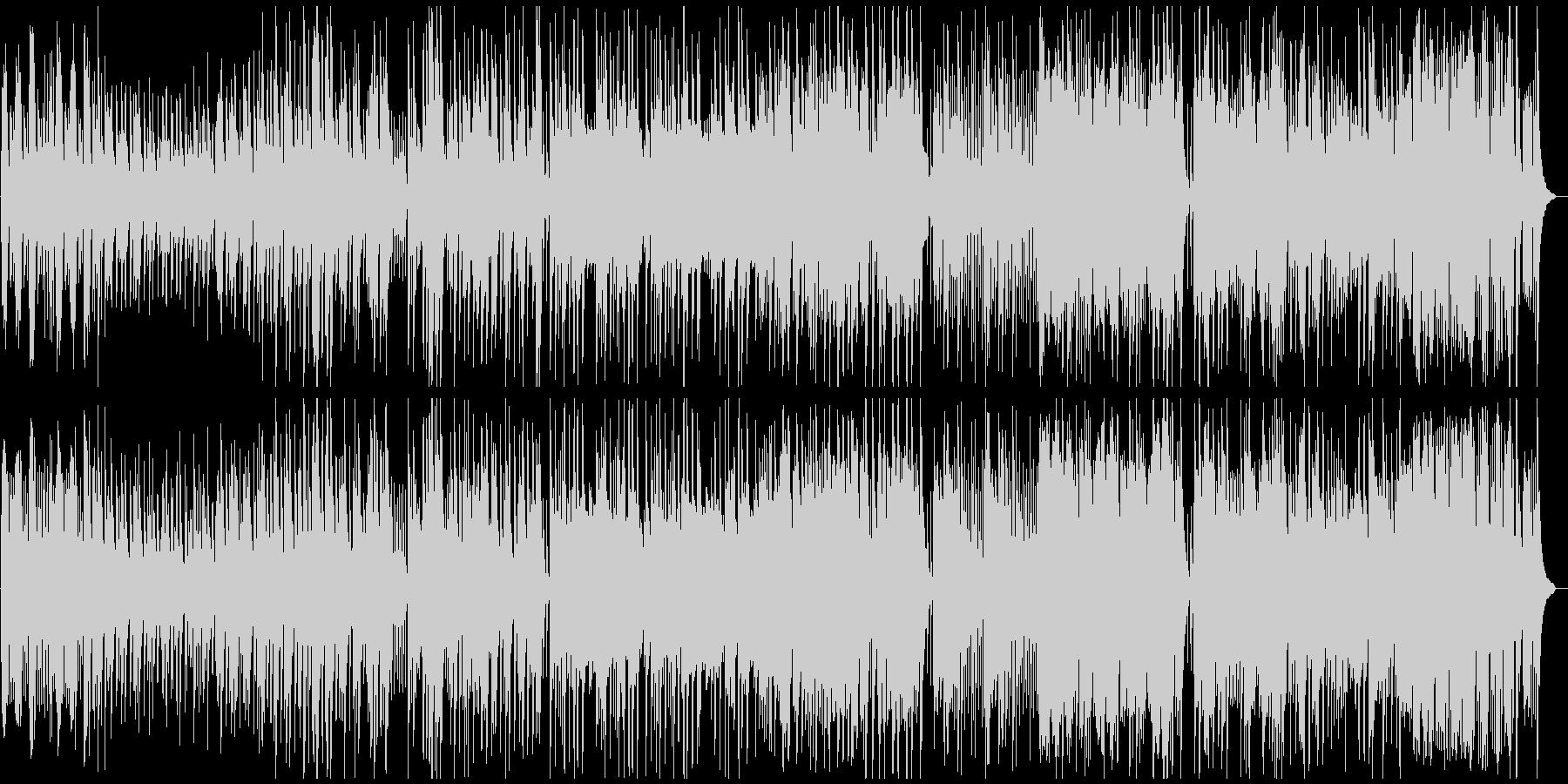 切なく悲しいピアノバラードの未再生の波形