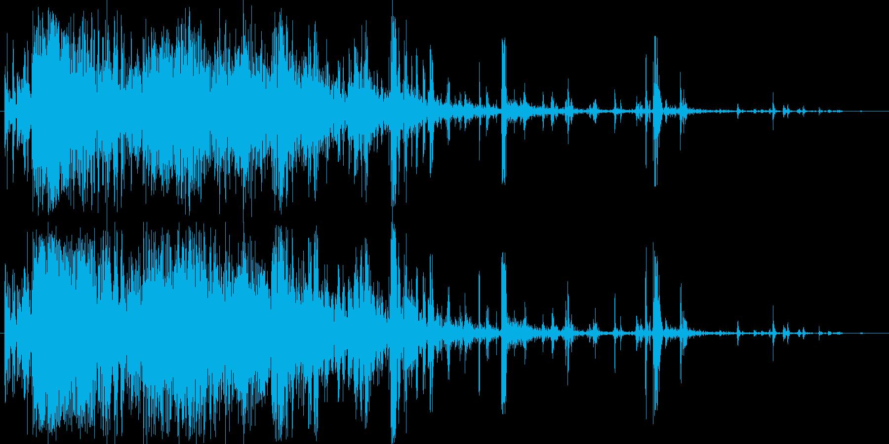 ホラー・スプラッター・骨折2の再生済みの波形