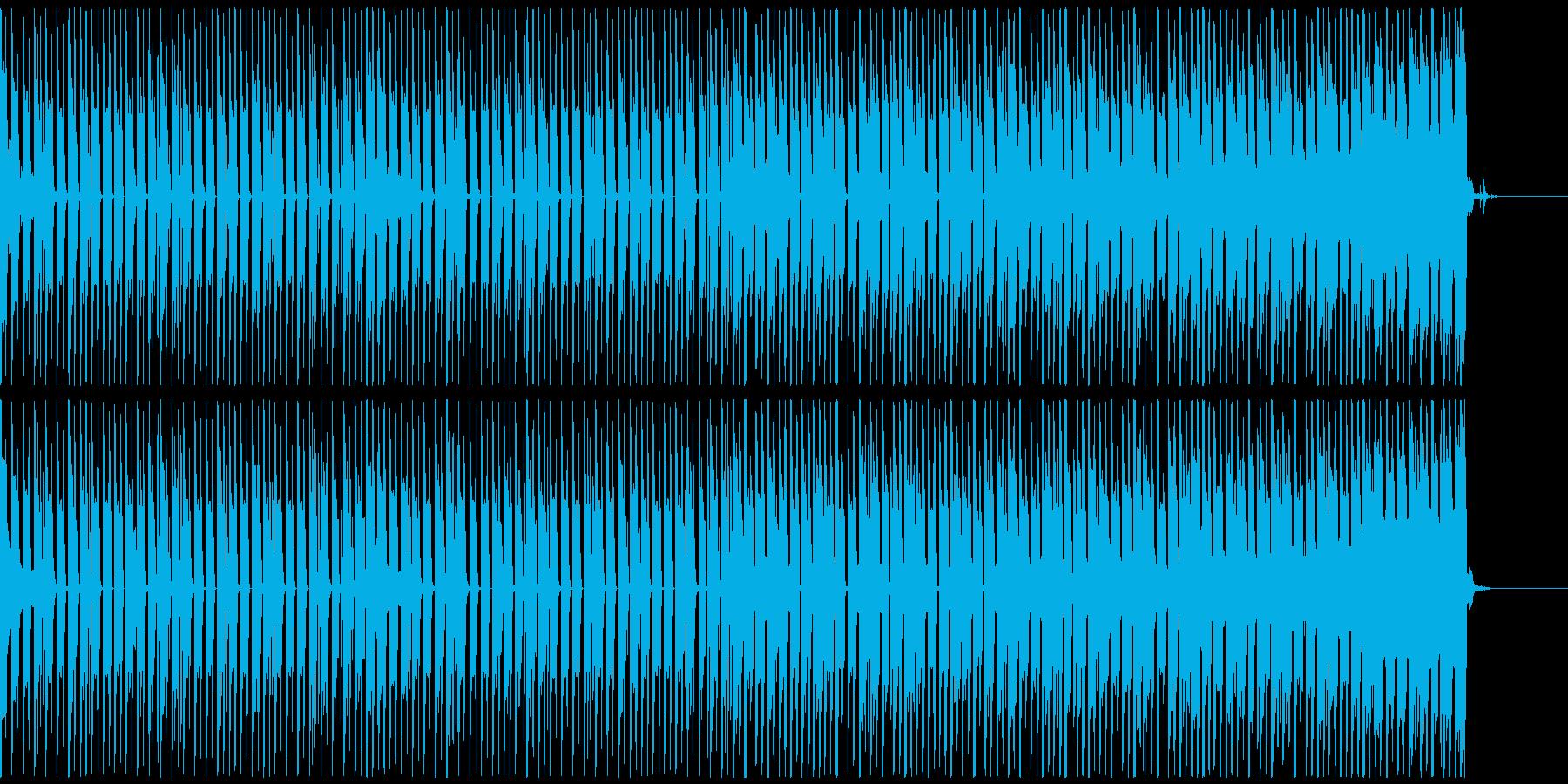 オシャレ・戦闘・スリリングEDM、M①の再生済みの波形