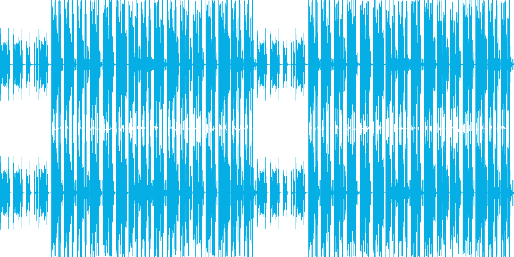 【爽やかなギターポップ】の再生済みの波形