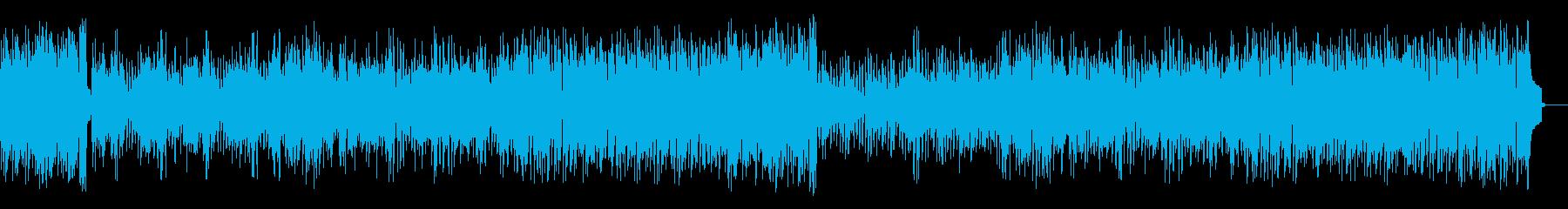 懐かしさに浸るジャズ(フルサイズ)の再生済みの波形