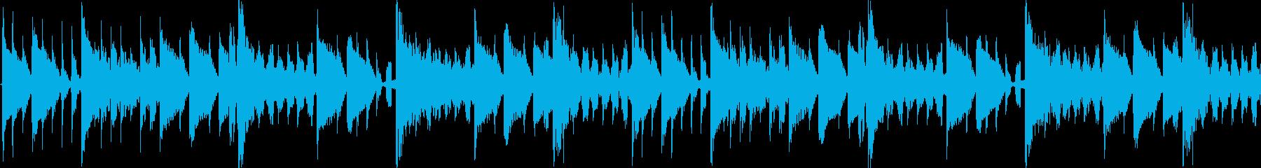 ドラムとベースだけの直球ダブステップの再生済みの波形