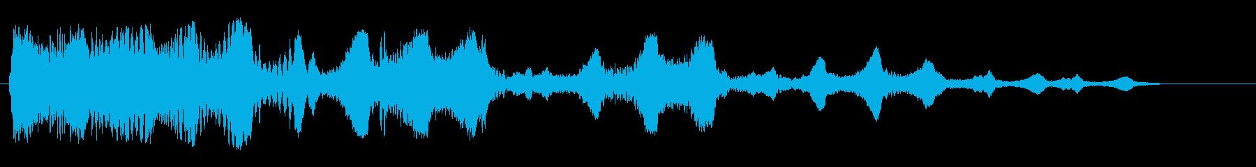 ビヨヨヨヨーン(コミカル)の再生済みの波形