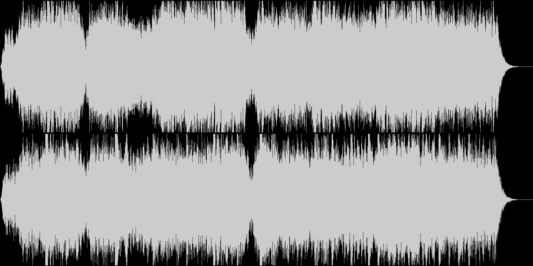 アンビエントなパッド系BGM(WAV)の未再生の波形