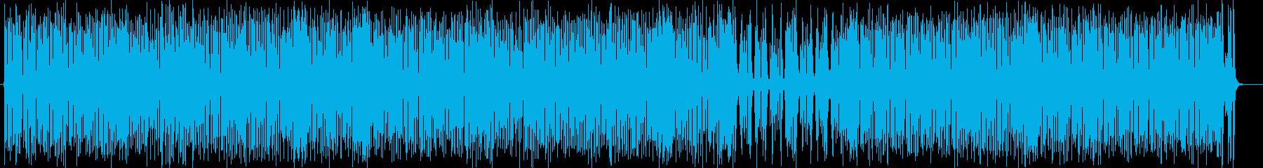 トランペットのキャッチーで楽しい弾む曲の再生済みの波形