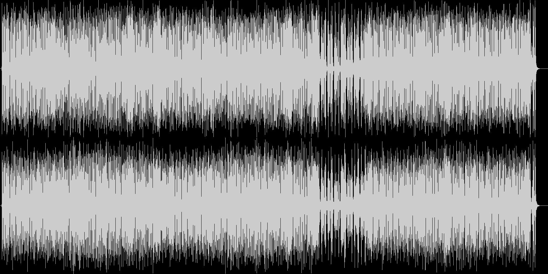 トランペットのキャッチーで楽しい弾む曲の未再生の波形