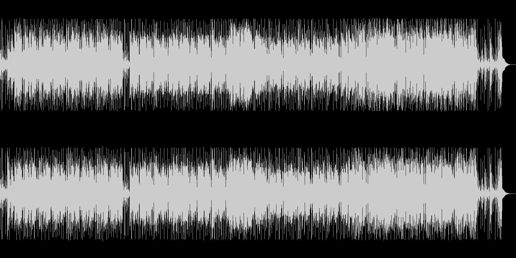 シンセの金属音が軽快なポップスの未再生の波形