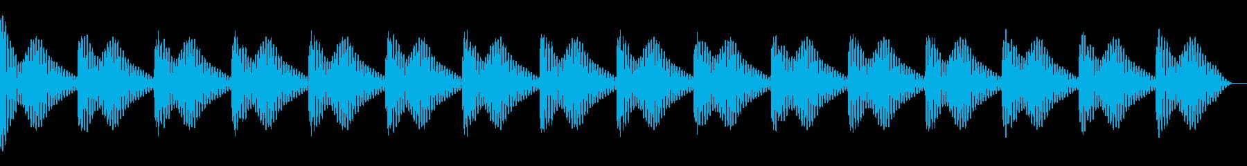 ドゥーン クラブ系サウンド向け キック の再生済みの波形