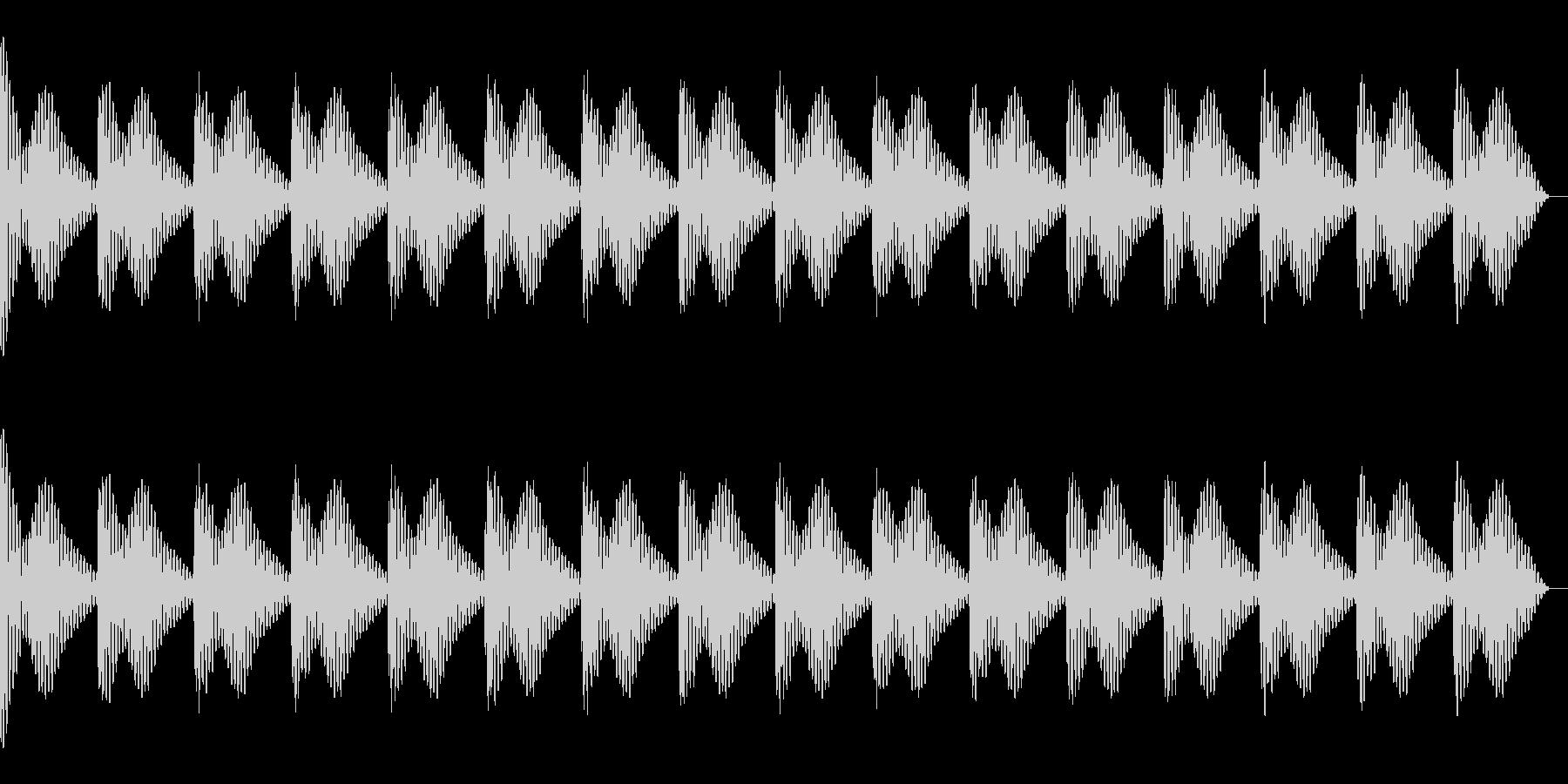 ドゥーン クラブ系サウンド向け キック の未再生の波形