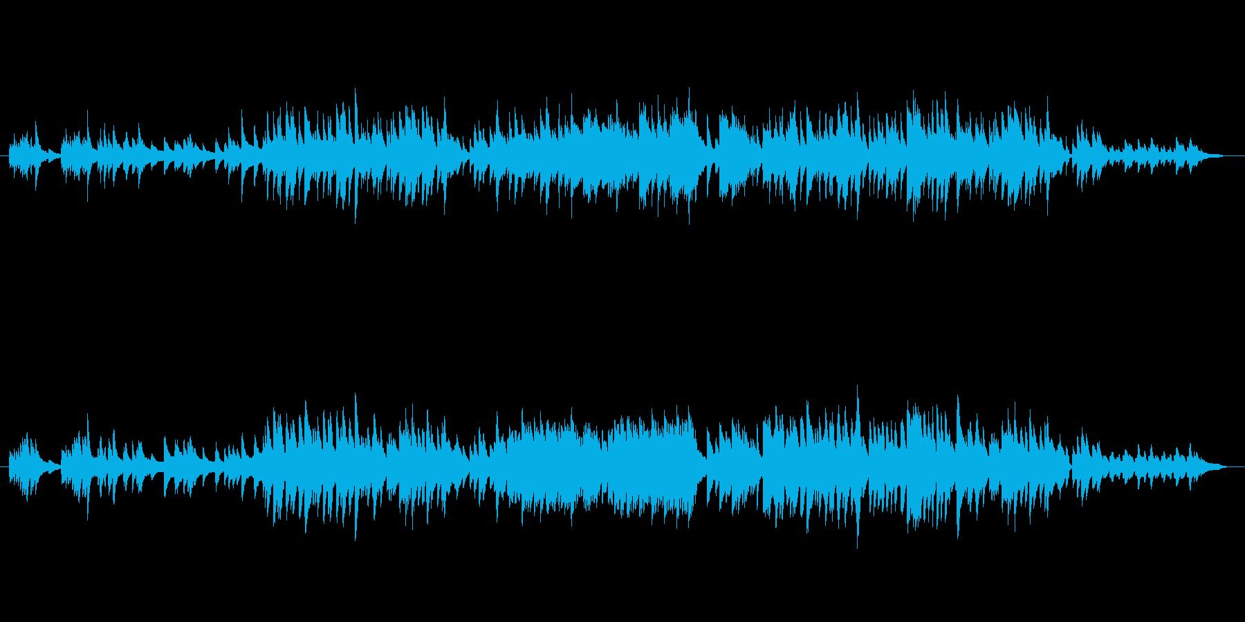 シンプルなクラシックハープ。古の雰囲気…の再生済みの波形