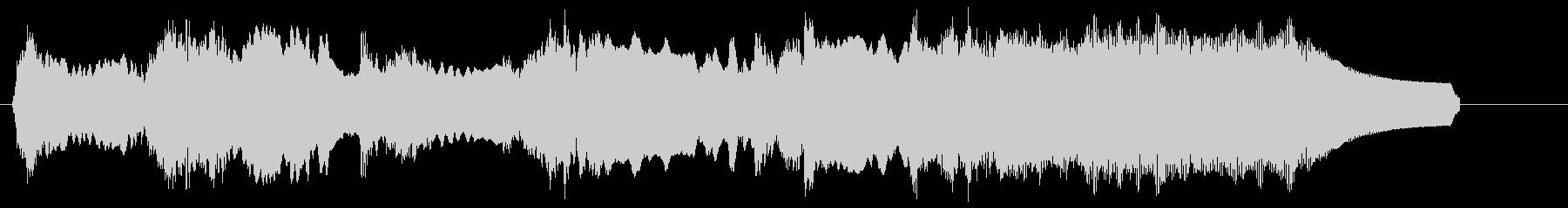 トッカータとフーガニ短調 エレキギターの未再生の波形
