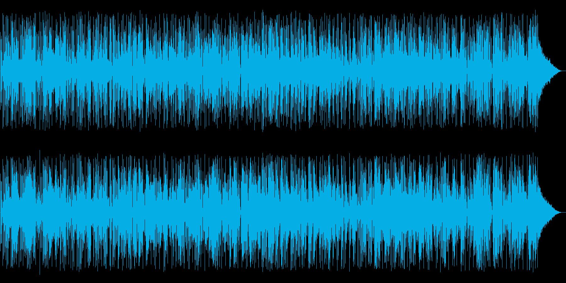 ほのぼのとしたレゲエソングの再生済みの波形