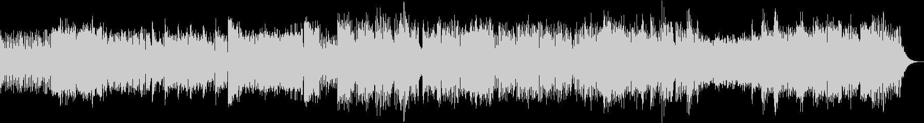 パイプオルガンと不思議なオーケストラの未再生の波形