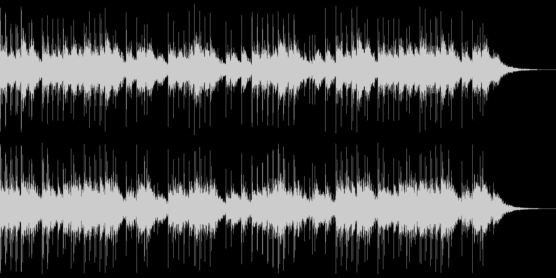 不穏なシーン向けの静かなオルゴール曲の未再生の波形