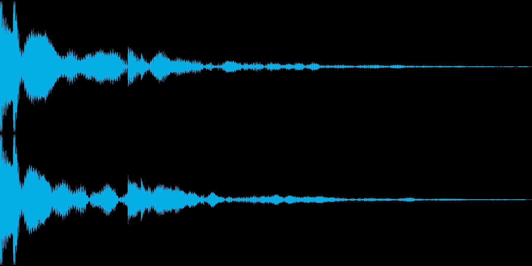 キコン(01_クリック_03)の再生済みの波形