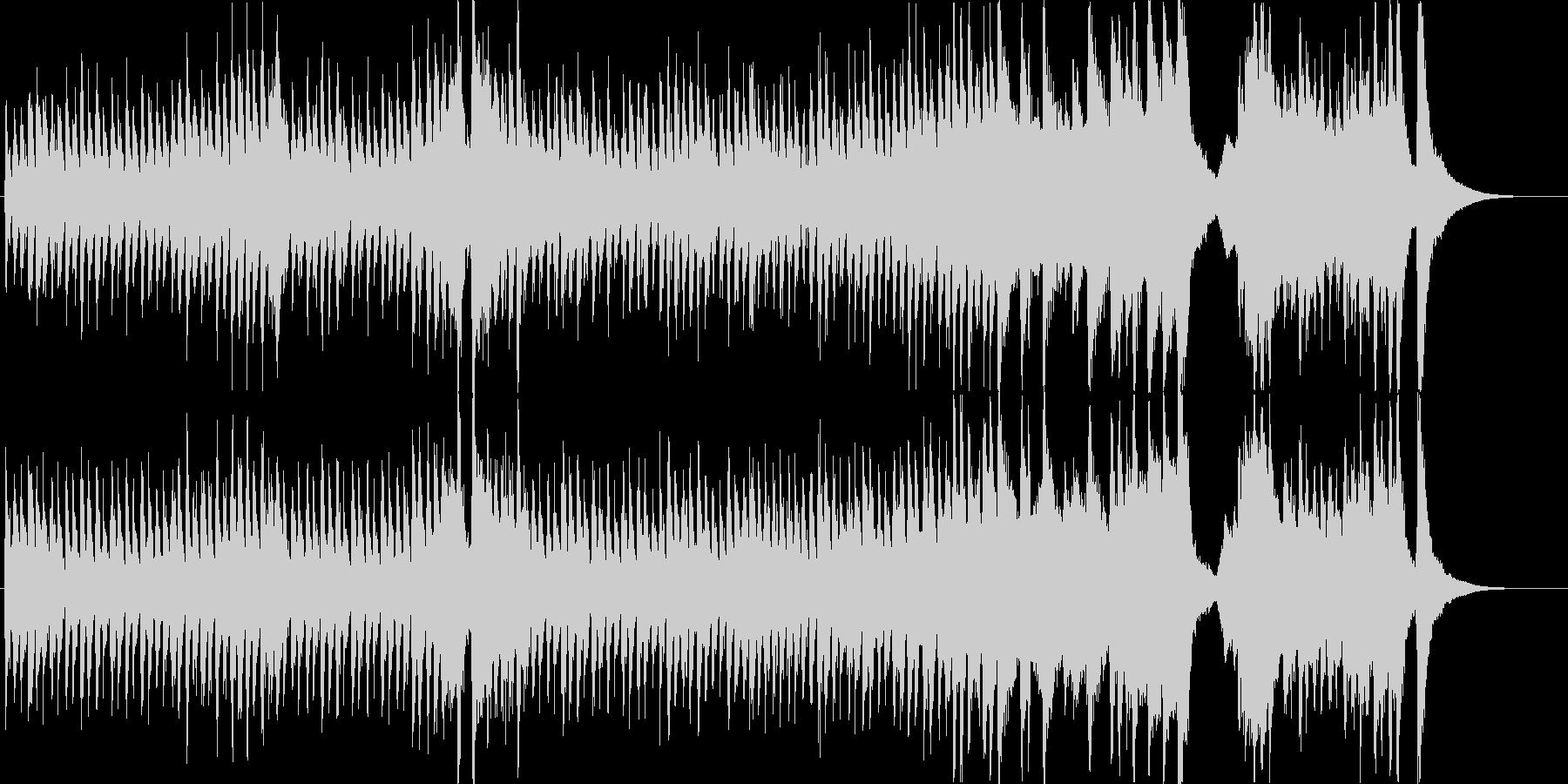 明るく賑やかで愉快なオーケストラマーチ2の未再生の波形