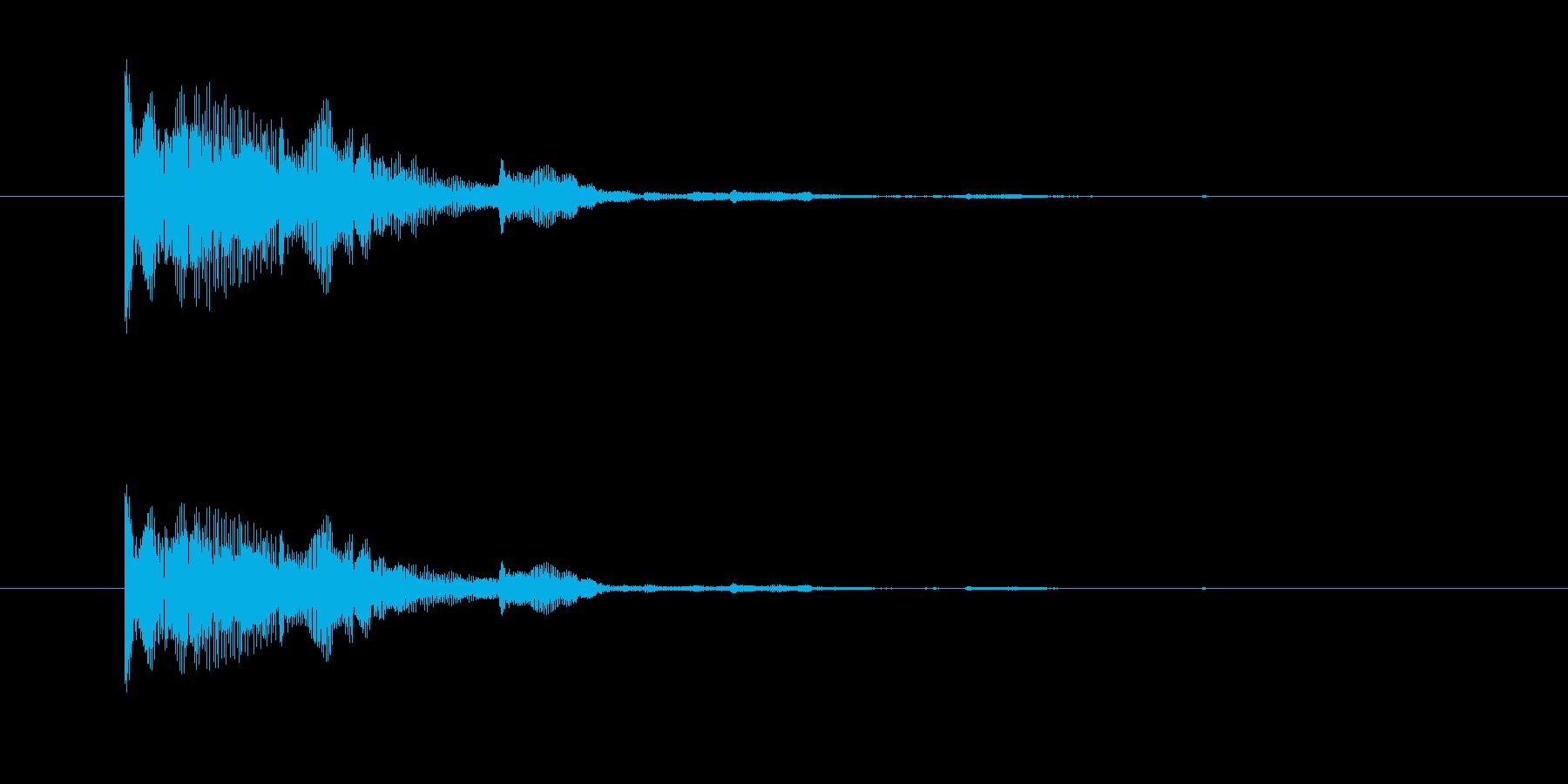 ぷわんぷわん(空気音、脱力感)の再生済みの波形