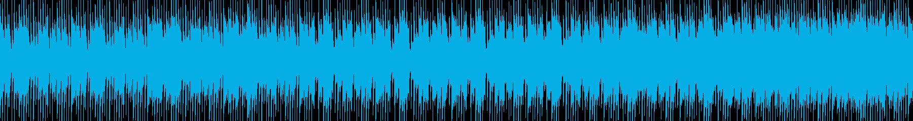 ラテン・ポップ・癖になるループ素材の再生済みの波形