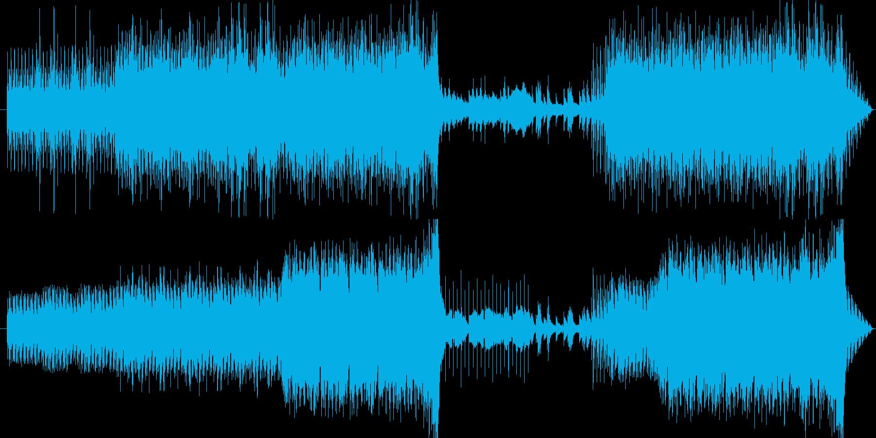 「ふるさと敬愛プロジェクト」で登録した…の再生済みの波形