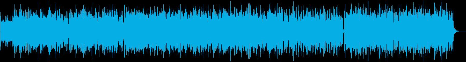 【リズム無し】明るくワクワクするようなケの再生済みの波形