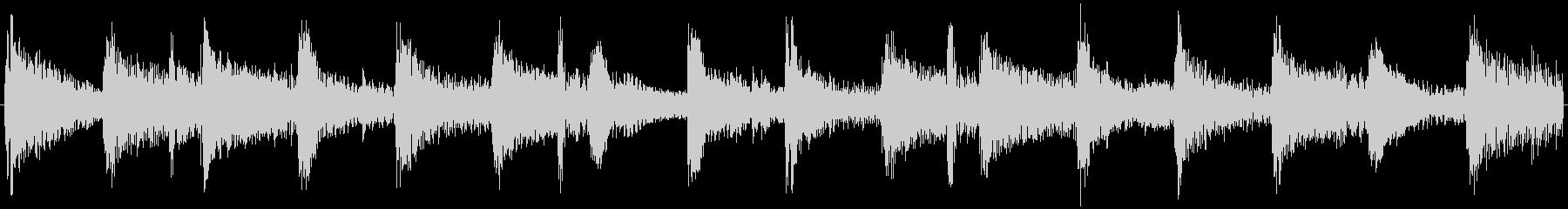 129bpmAbMajシャッフルジャズ円の未再生の波形