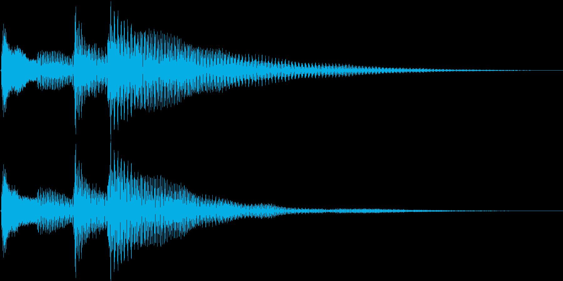 ポロロン↓(キャンセル、移動、ギター)の再生済みの波形