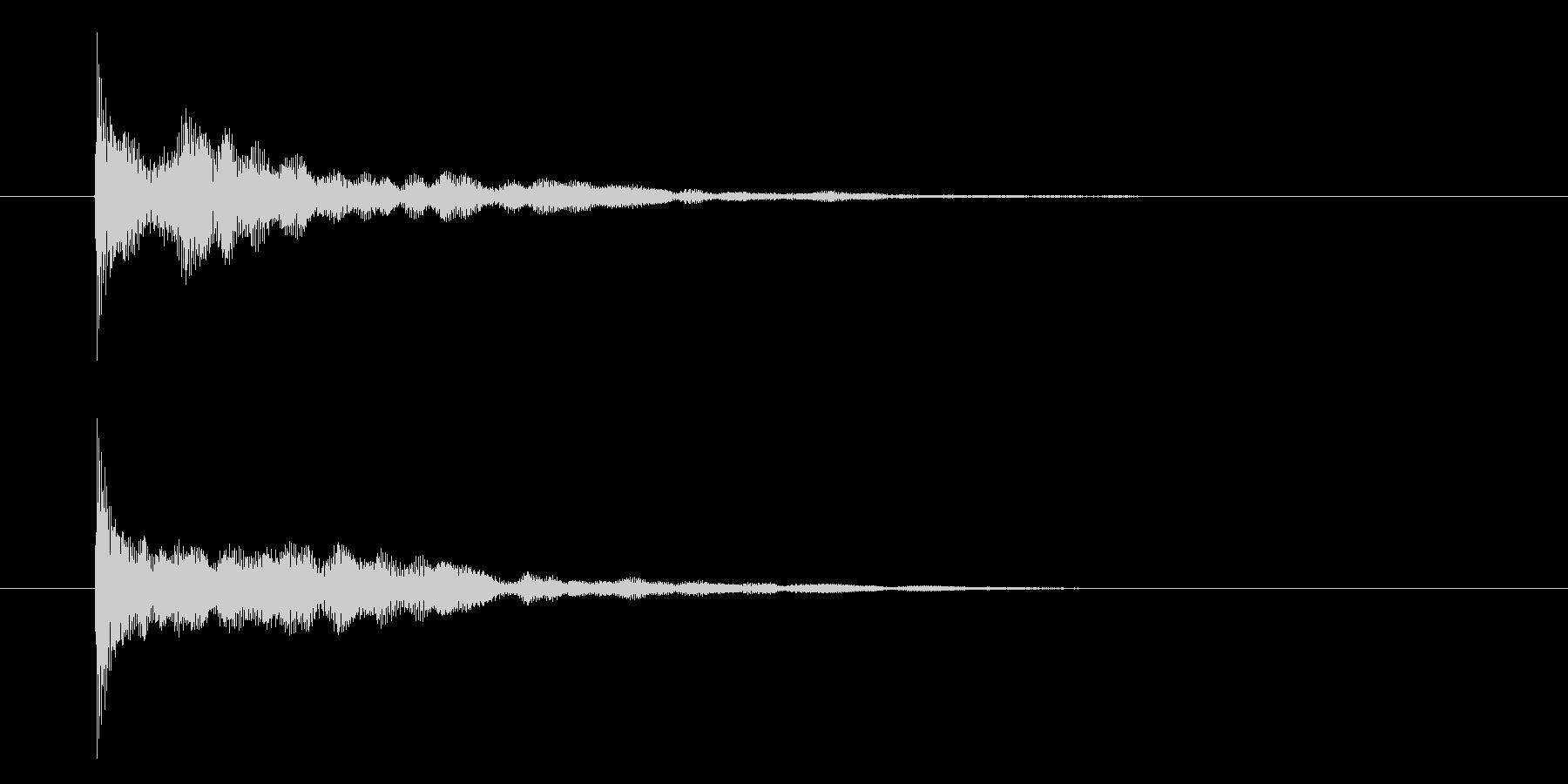 シンセピチカートのサウンドロゴ2の未再生の波形