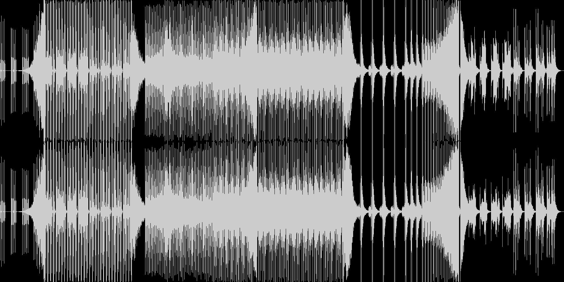 中国の楽器を使った音楽の未再生の波形