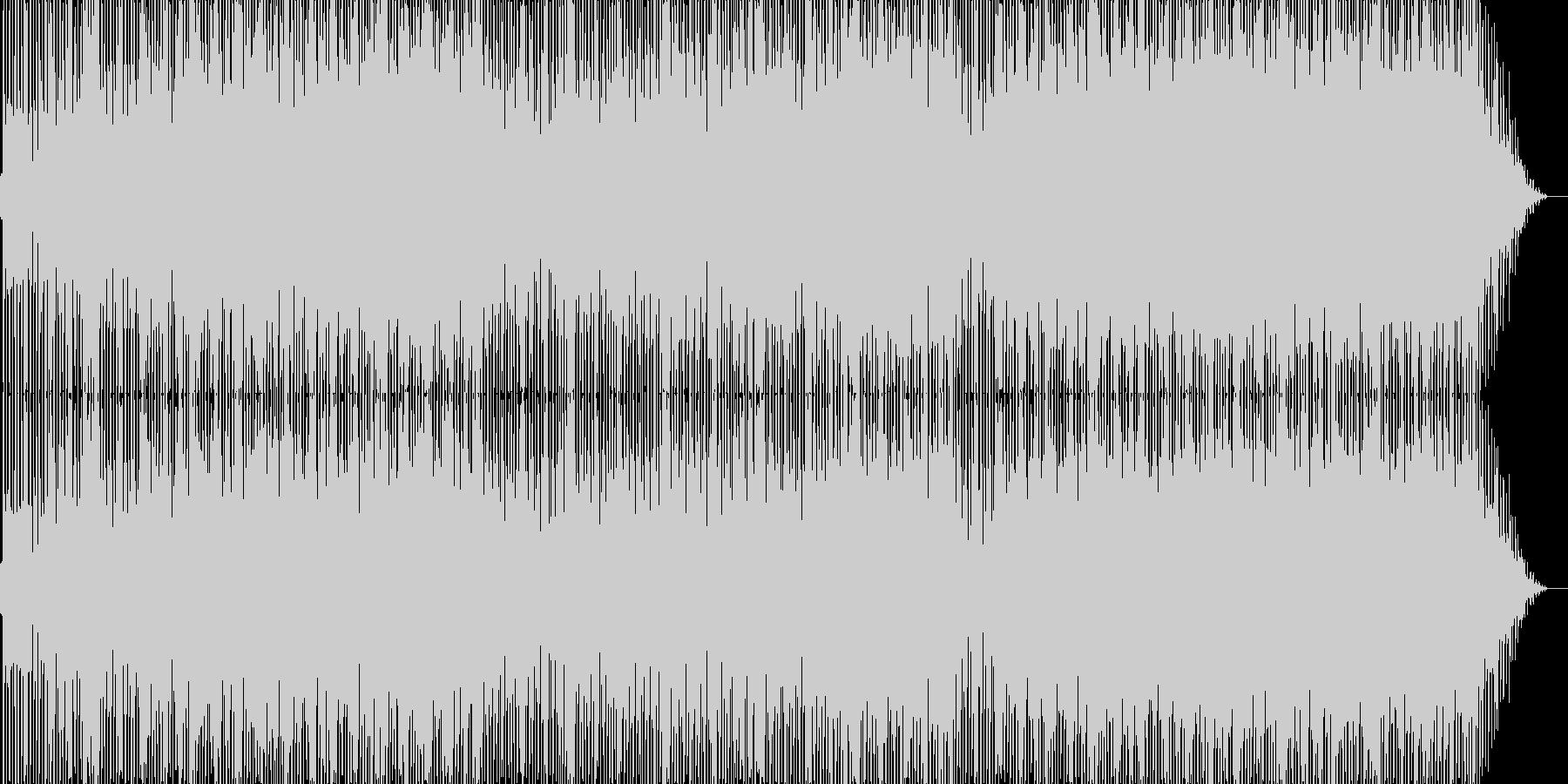 ファンキーな雰囲気のポップス2の未再生の波形