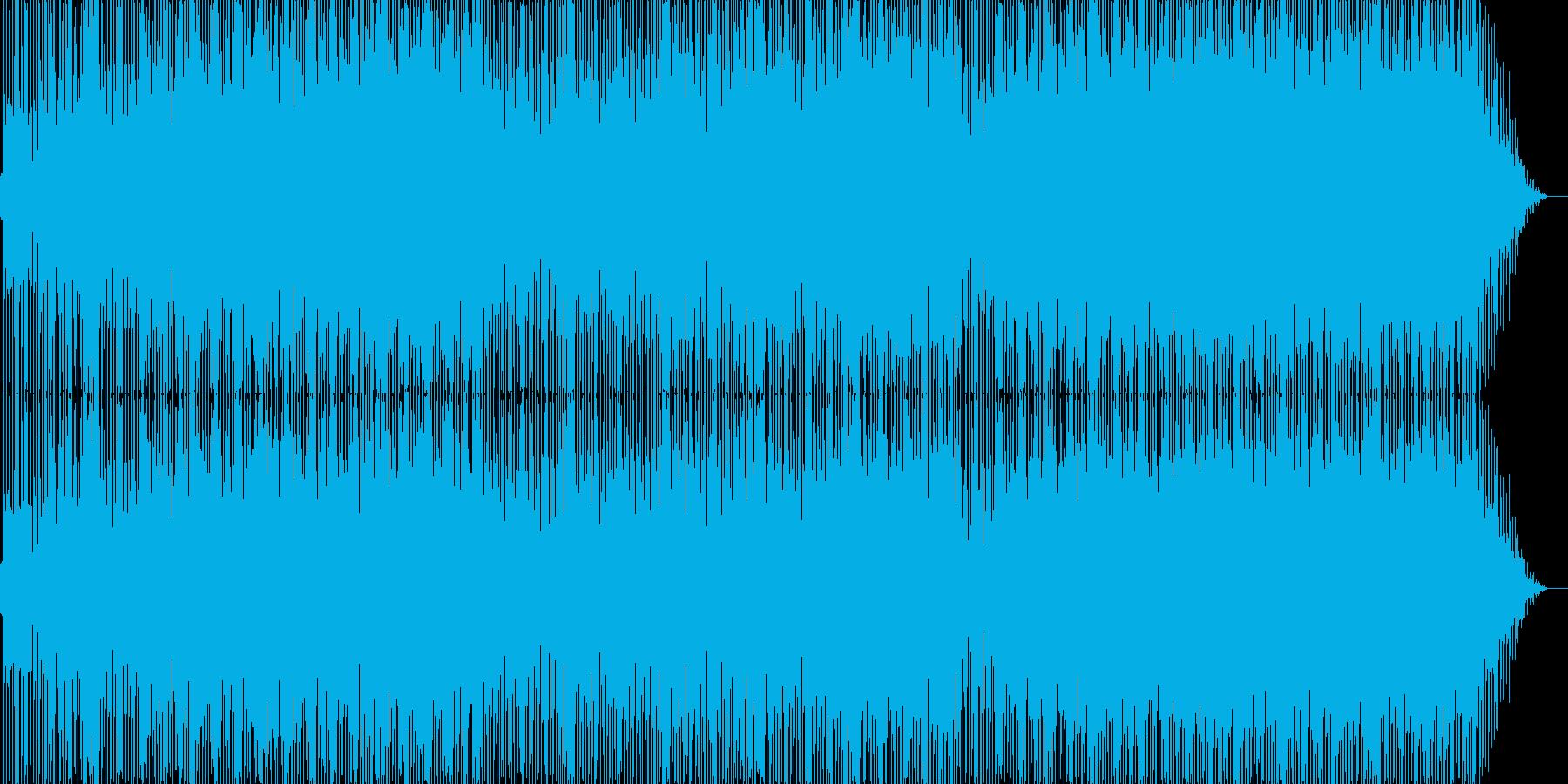 ファンキーな雰囲気のポップス2の再生済みの波形
