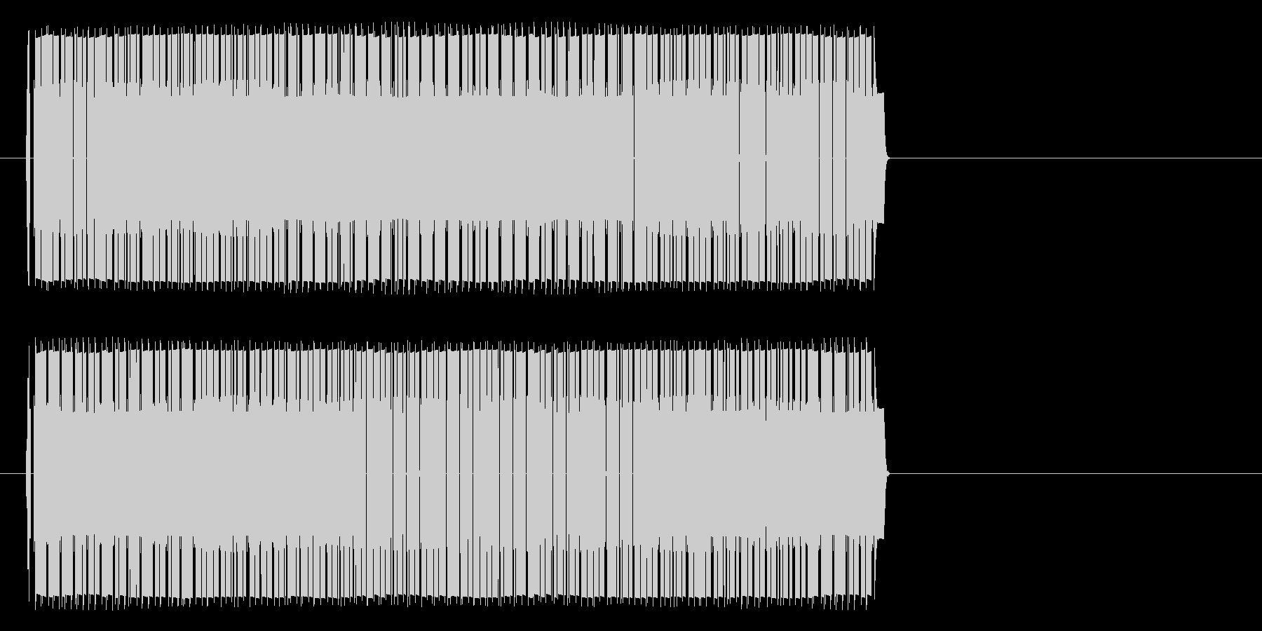 ビリビリビリビリ(感電等)の未再生の波形