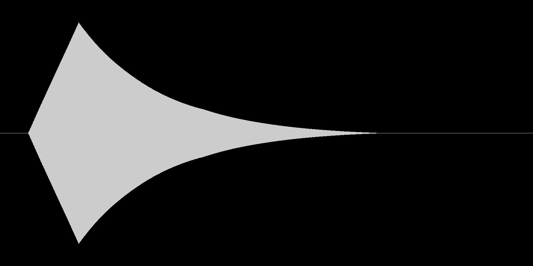 ポピーんの未再生の波形