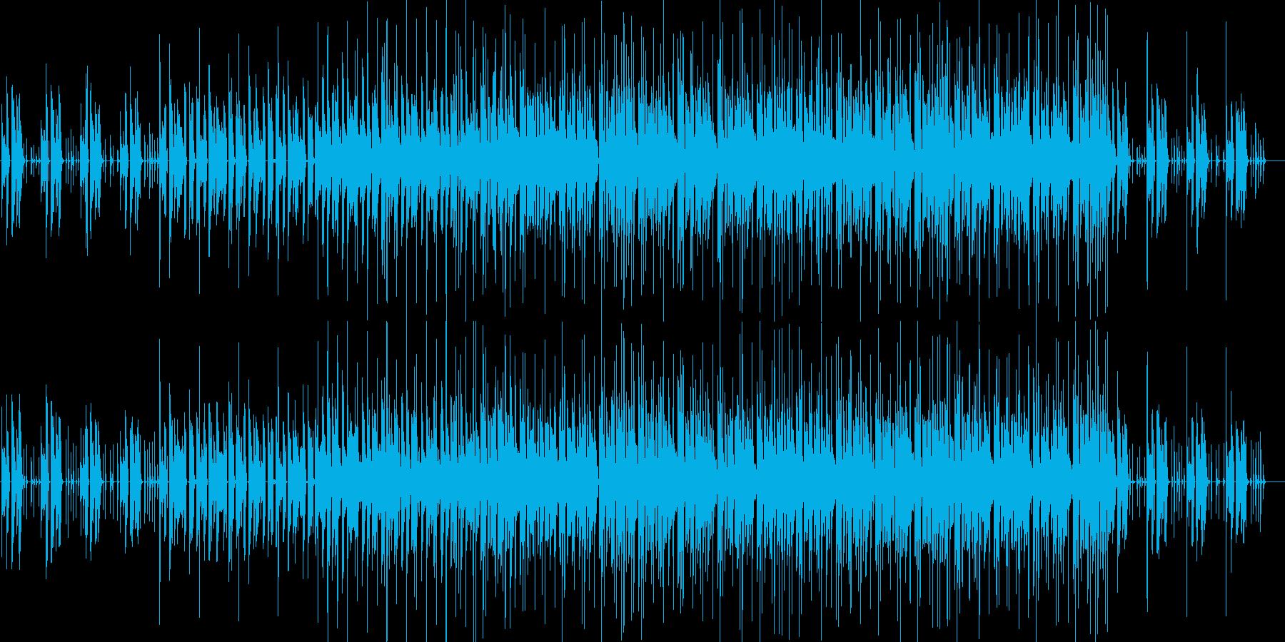 クール・軽快・ループ対応・映像・ゲーム用の再生済みの波形