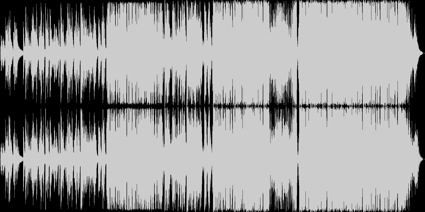 ウェディングソングにぴったりなバラードの未再生の波形