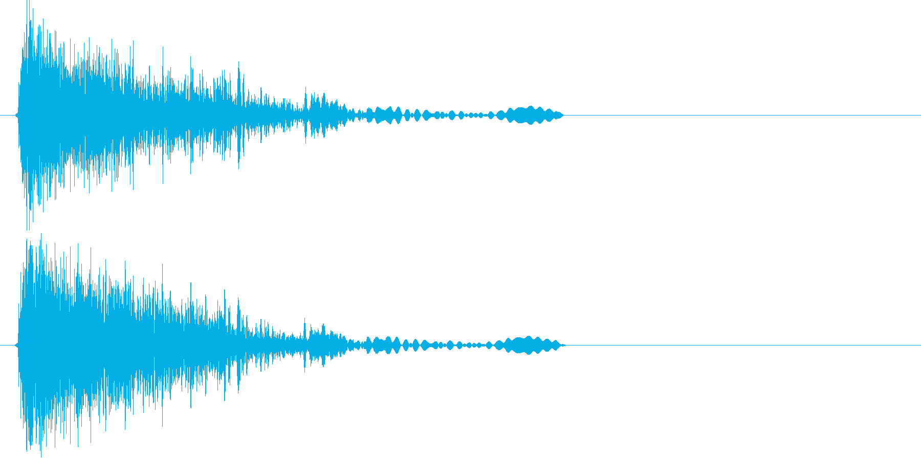 キジュワン!(SF音)の再生済みの波形