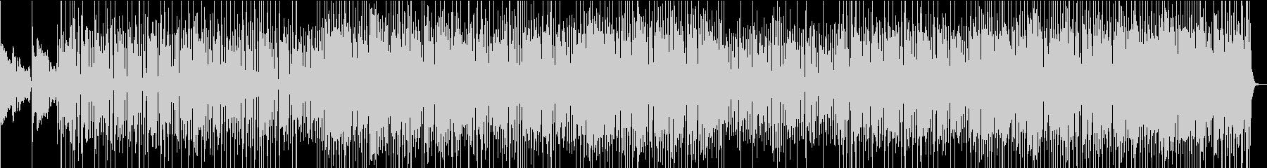 90年代アシッド・ジャズ的な曲の未再生の波形