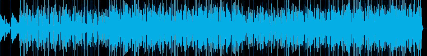 90年代アシッド・ジャズ的な曲の再生済みの波形