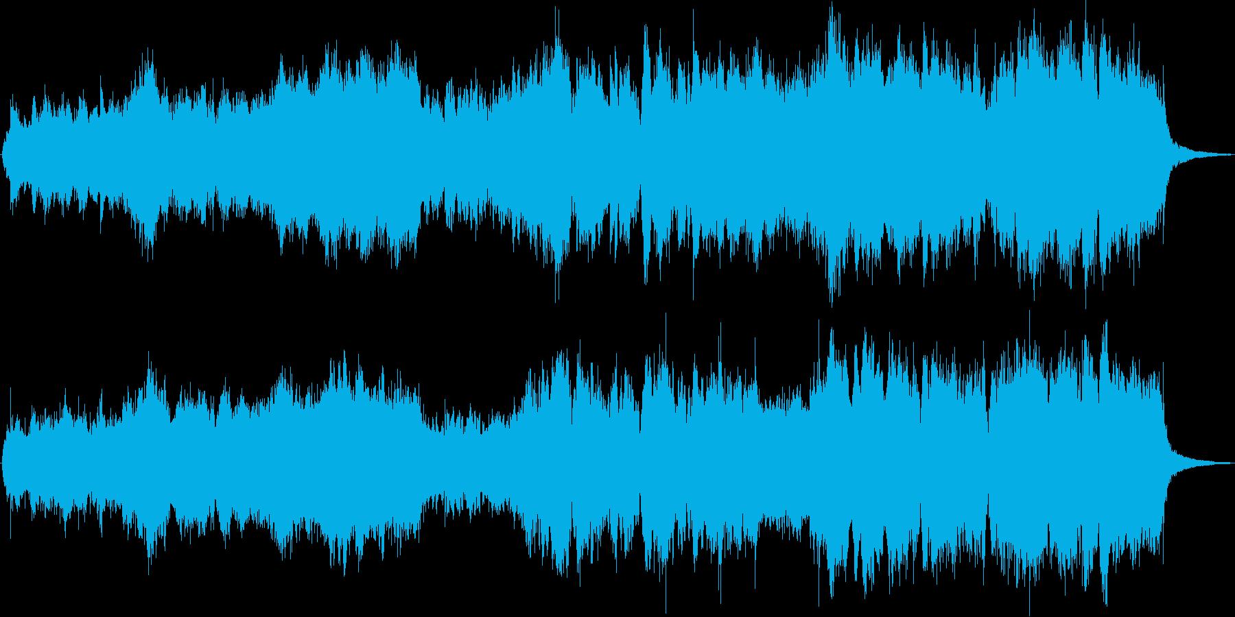 伸びやかなオーケストラ オープニングの再生済みの波形