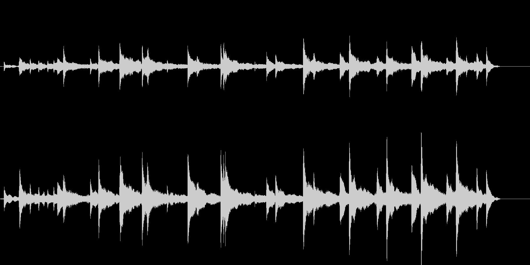 不思議で幻想的なイメージ 即興ピアノ_1の未再生の波形