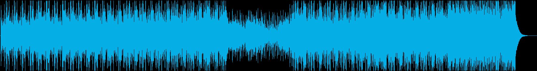 力強い和太鼓と和楽器のBGMの再生済みの波形